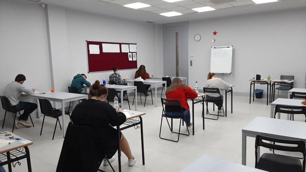 Examen Cambridge en Kensite, Murcia